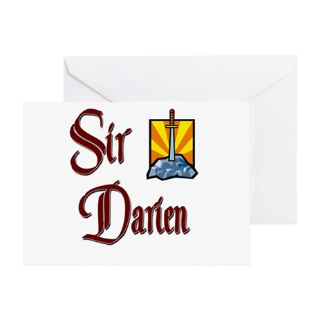 Sir Darien Greeting Card