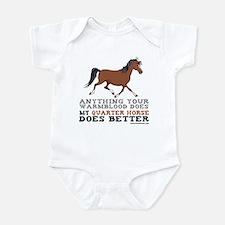 Quarter Horse Onesie