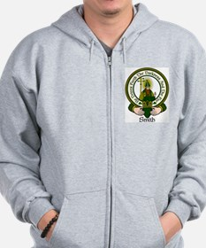 Smith Clan Motto Zip Hoodie