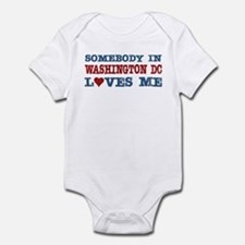 Somebody in Washington DC Loves Me Infant Bodysuit