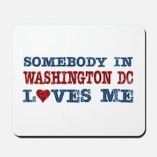 Somebody in Washington DC Loves Me Mousepad