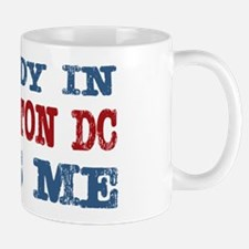 Somebody in Washington DC Loves Me Mug