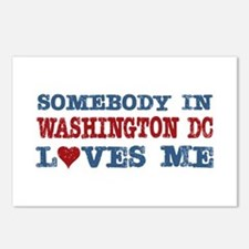Somebody in Washington DC Loves Me Postcards (Pack