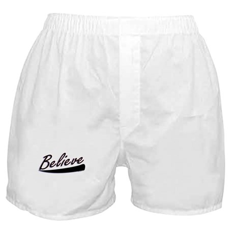 Believe Boxer Shorts