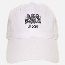Moore Vintage Crest Family Name Baseball Baseball Cap