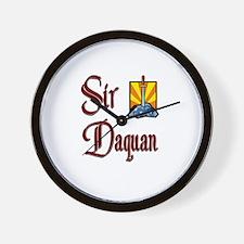 Sir Daquan Wall Clock