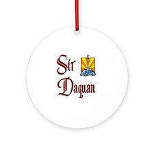 Sir Daquan Ornament (Round)