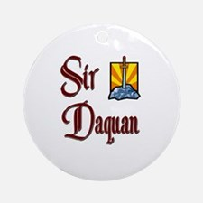 Sir Daquan Ornament (Round)