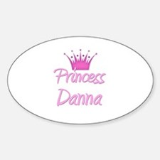 Princess Danna Oval Decal