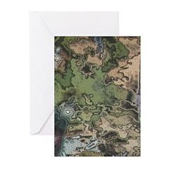 Custom Camoflauge Greeting Cards (Pk of 10)