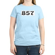 857 Area Code T-Shirt