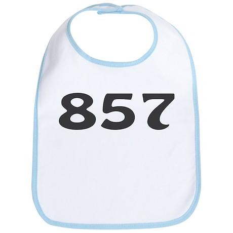 857 Area Code Bib