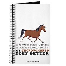 Thoroughbred Horse Journal