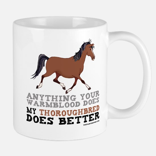 Thoroughbred Horse Mug