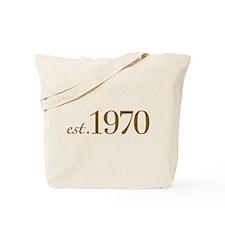 Est. 1970 (Birthday) Tote Bag