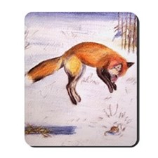Vixen Hunting Mousepad