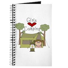 Girls Love Camping Journal