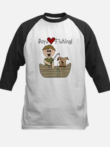 Boys Love Fishing Tee