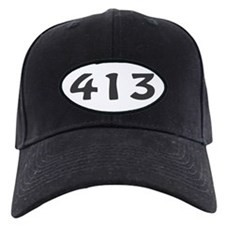 413 Area Code Baseball Hat