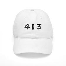 413 Area Code Baseball Baseball Cap