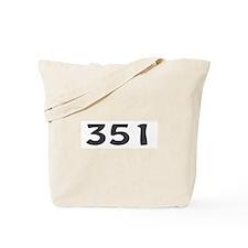351 Area Code Tote Bag