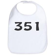 351 Area Code Bib