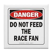 Race Fan Tile Coaster