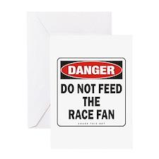 Race Fan Greeting Card