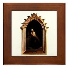 Unique Teresa Framed Tile