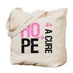 Hope Cure Breast Cancer Tote Bag
