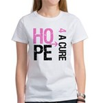 Hope Cure Breast Cancer Women's T-Shirt