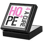 Hope Cure Breast Cancer Keepsake Box