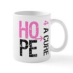 Hope Cure Breast Cancer Mug