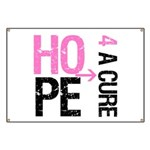 Hope Cure Breast Cancer Banner