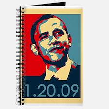 Obama Inauguration Date 1-20-09 Journal