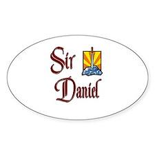 Sir Daniel Oval Decal