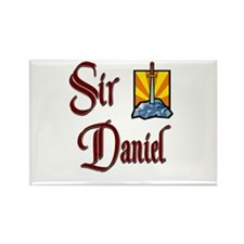 Sir Daniel Rectangle Magnet