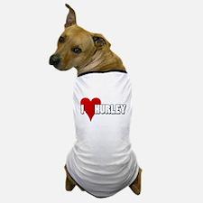 I Heart (Love) Hurley Dog T-Shirt