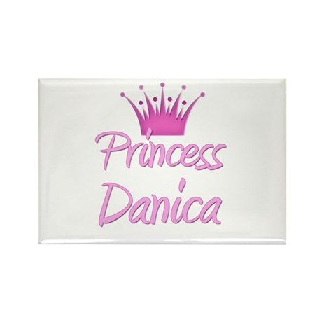 Princess Danica Rectangle Magnet (10 pack)