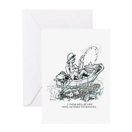 Gillbilly Greeting Card