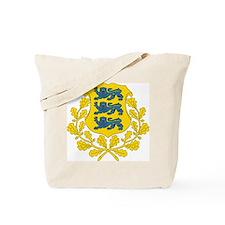 Estonia Coat Of Arms Tote Bag