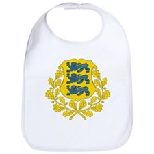 Estonia Coat Of Arms Bib