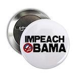 "Impeach Obama 2.25"" Button (100 pack)"