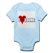 I Heart (Love) Boone Infant Creeper