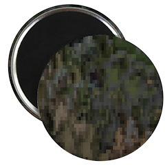Custom Digital Camoflauge Magnet
