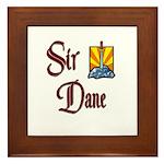 Sir Dane Framed Tile