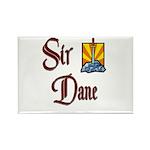 Sir Dane Rectangle Magnet (10 pack)