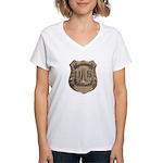 Lighthouse Police Women's V-Neck T-Shirt