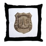 Lighthouse Police Throw Pillow