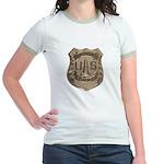 Lighthouse Police Jr. Ringer T-Shirt